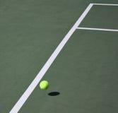 Concept de jeu de tennis Photographie stock