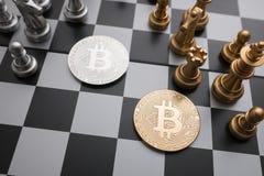 Concept de jeu de société d'échecs des idées et de la concurrence d'affaires Photo libre de droits