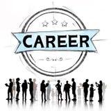 Concept de Job Goal Expertise Skill Talent de carrière Photo libre de droits