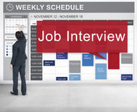 Concept de Job Interview Employment Human Resources image libre de droits