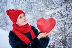 Concept de jour d'amour et de valentines Image stock