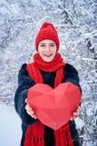 Concept de jour d'amour et de valentines Images libres de droits