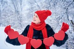 Concept de jour d'amour et de valentines Photo libre de droits