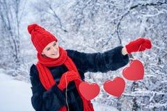 Concept de jour d'amour et de valentines Photos libres de droits