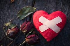 Concept de jour d'amour et de valentines Photographie stock libre de droits