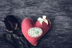 Concept de jour d'amour, de mariage et de valentines Images libres de droits