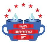 Concept de Jour de la Déclaration d'Indépendance Image libre de droits
