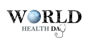 Concept de jour de santé du monde Images libres de droits