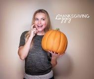Concept de jour de thanksgiving Image stock