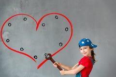 Concept de jour de Valentines Photographie stock libre de droits