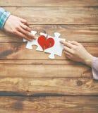 Concept de jour du ` s de Valentine Photos libres de droits