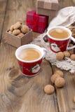 concept de jour de St Nicolas Vacances néerlandaises Sinterklaas, brea de fête photo stock