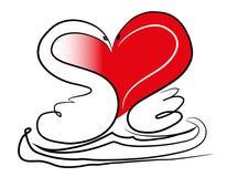 Concept de jour de Valentines illustration de vecteur