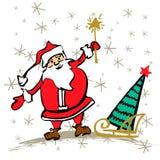 Concept de Joyeux Noël et de nouvelle année illustration stock