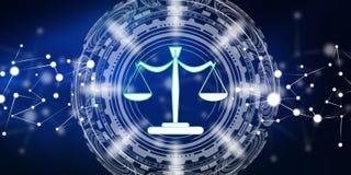 Concept de justice Illustration Stock
