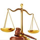 Concept de justice Photographie stock