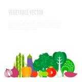 Concept de légumes frais illustration de vecteur