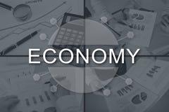 Concept de l'économie photo stock