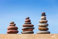 Concept de l'équilibre et de l'harmonie bascule le zen Photo stock