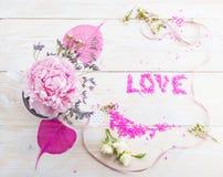 concept de l'amour, de la célébration et du mariage Images libres de droits
