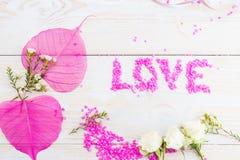 concept de l'amour, de la célébration et du mariage Photo stock