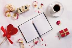 Concept de l'amour de Valentine Day Images libres de droits