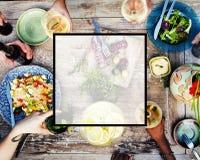 Concept de l'espace de copie de place d'amitié d'unité d'été Images stock