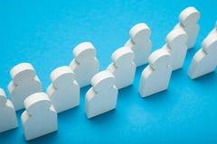 Concept de la communauté de société, équipe d'affaires, groupe image stock