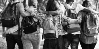 Concept de la connaissance de personnes d'étudiants d'éducation image stock