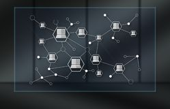 Concept de la connexion de dispositifs illustration de vecteur