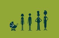 Concept de la famille heureux Images stock