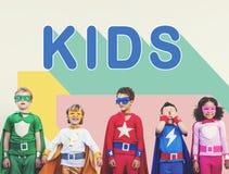 Concept de la jeunesse d'enfance d'enfants d'enfants Images libres de droits