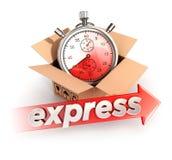 concept de la livraison express 3d Photographie stock