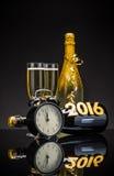 Concept de la nouvelle année 2016 Images libres de droits