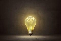 Concept de la nouvelle année 2017 Photo stock
