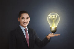 Concept de la nouvelle année 2017 Photos libres de droits
