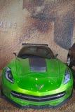 Concept de la pastenague C7 de Corvette de nouvel âge de transformateurs de film de l'extinction Photos libres de droits
