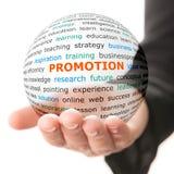 Concept de la promotion dans les affaires photo stock