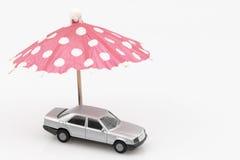 Concept de la protection de voiture ou de l'entraînement sûr Photographie stock libre de droits