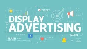 Concept de la publicité d'affichage Photos libres de droits