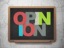 Concept de la publicité : Opinion sur le conseil pédagogique Photos stock