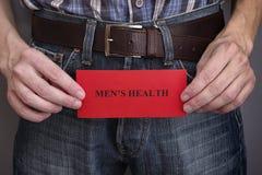 Concept de la santé des hommes image libre de droits