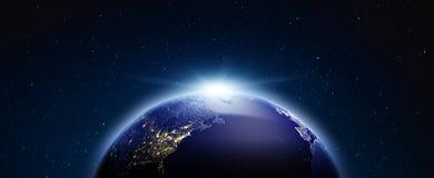 Concept de la terre de planète rendu 3d Photographie stock libre de droits