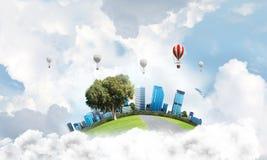 Concept de la vie écologique Photos libres de droits