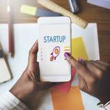 Concept de lancement d'esprit d'entreprise de jeune entreprise Image stock