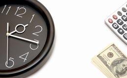 Concept de le temps, c'est de l'argent Photos libres de droits