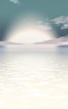 Concept de lever de soleil Photo stock