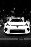 Concept de Lexus LFA Photos stock