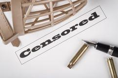 Concept de liberté de la presse photo stock