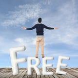 Concept de libre images libres de droits